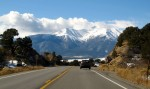 Mount Princeton in Clouds