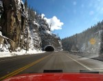 Tunnel on Wolf Creek Pass
