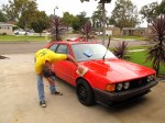Will polishing his Mars Red Scirocco